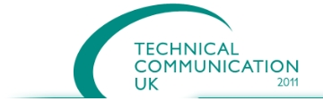 Logo of the Technical Communication UK conference