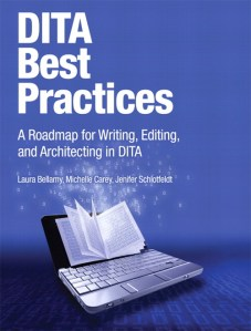 Cover of the DITA Best Practices book